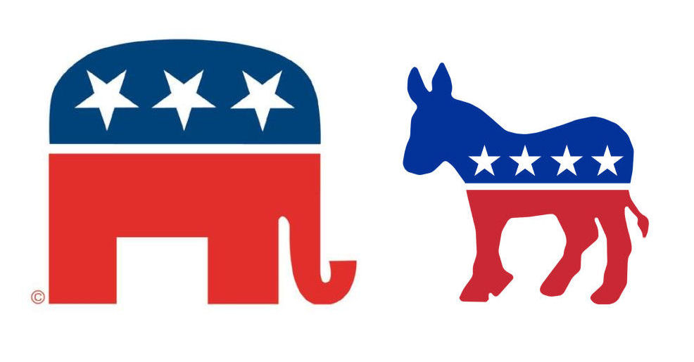 Political Logos The Origin Of The Republicans Elephant And The