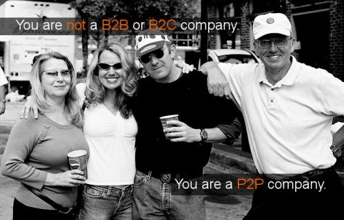 You are a P2P company, by the brandbuilder