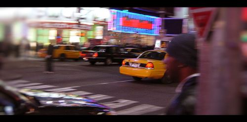 NYC cab, by Olivier Blanchard 2004