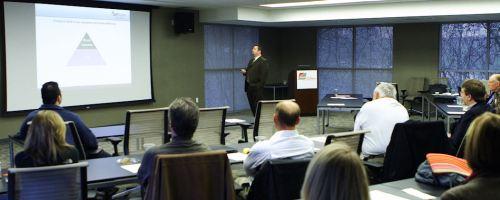 Jay Handler (@sellphone) presenting