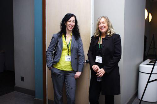 Lydia Dishman (@lydiabreakfast) and SCRA's Jill Hirsekorn