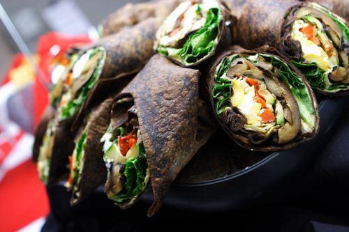 Vegetarian wraps (Keep away!!!)