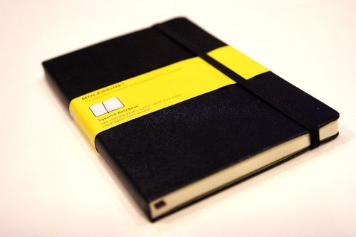 moleskine Yellow - Graph