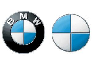BMW's Starbucks-style logo redesign
