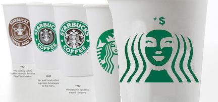 Starbucks logos 1971 - 2021?